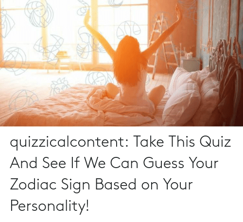 Can We: quizzicalcontent:  Take This Quiz And See If We Can Guess Your Zodiac Sign Based on Your Personality!