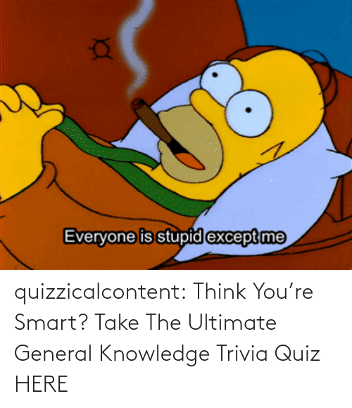 youre: quizzicalcontent:  Think You're Smart? Take The Ultimate General Knowledge Trivia Quiz HERE