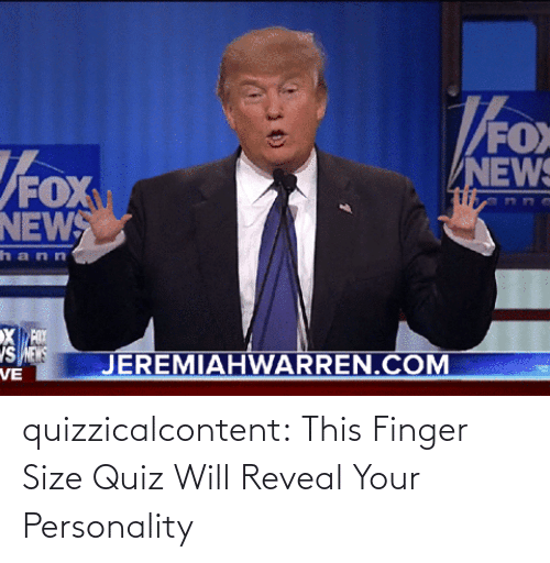 amp: quizzicalcontent:  This Finger Size Quiz Will Reveal Your Personality