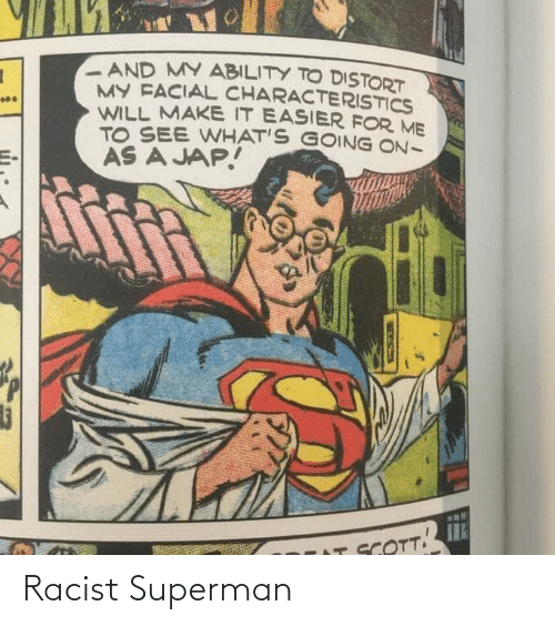 Superman: Racist Superman