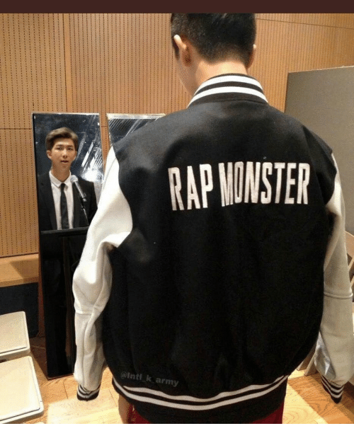 Rap, Army, and Inti: RAP NONSTER  @inti k army