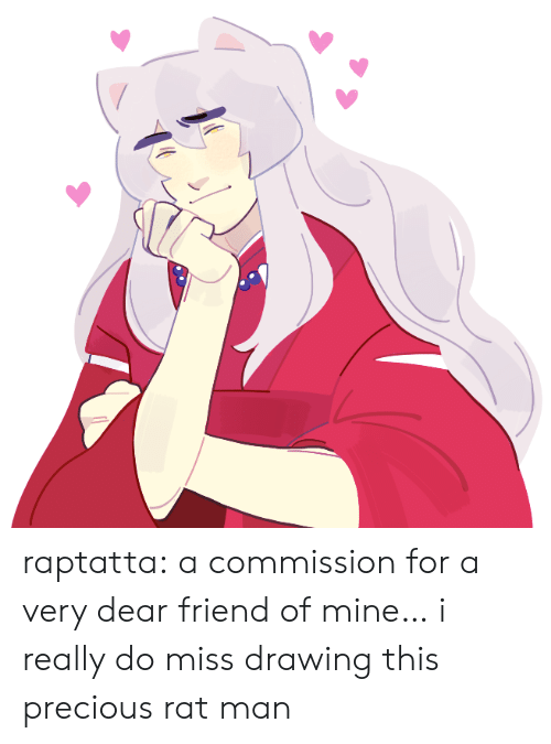 Precious, Target, and Tumblr: raptatta:  a commission for a very dear friend of mine… i really do miss drawing this precious rat man