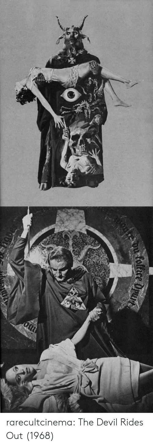 Tumblr, Devil, and Blog: rarecultcinema:  The Devil Rides Out (1968)