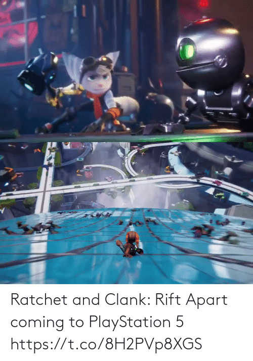 coming: Ratchet and Clank: Rift Apart coming to PlayStation 5 https://t.co/8H2PVp8XGS