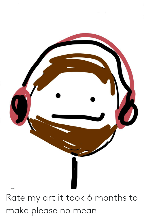 My Art: Rate my art it took 6 months to make please no mean