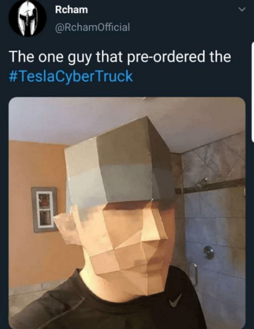 Pre: Rcham  @RchamOfficial  The one guy that pre-ordered the