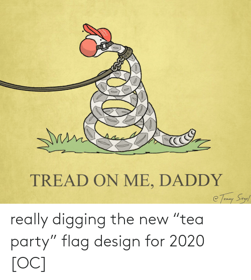 "new: really digging the new ""tea party"" flag design for 2020 [OC]"