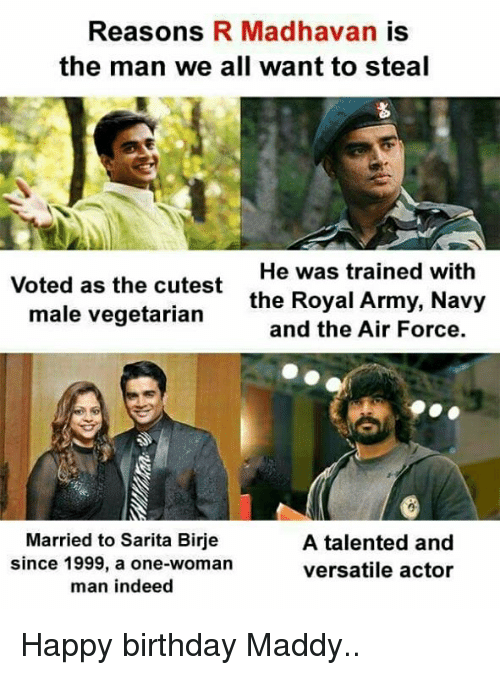 Reasons R Madhavan Is The Man We All Want To Steal Voted As The