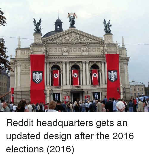 2016 Elections: Reddit headquarters gets an updated design after the 2016 elections (2016)