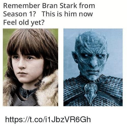 Feel Old Yet: Remember Bran Stark from  Season 1? This is him now  Feel old yet? https://t.co/i1JbzVR6Gh