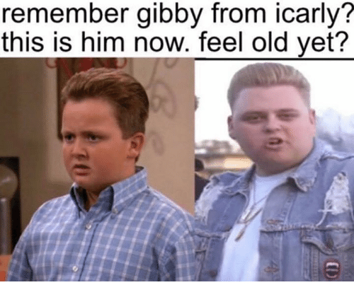 iCarly, Old, and Him: remember gibby from icarly?  this is him now. feel old yet?