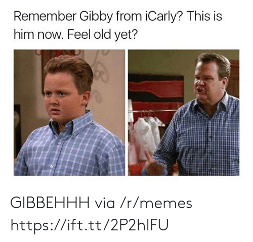 Feel Old Yet: Remember Gibby from iCarly? This is  him now. Feel old yet? GIBBEHHH via /r/memes https://ift.tt/2P2hlFU