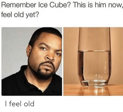 Ice Cube: Remember Ice Cube? This is him now  feel old yet? I feel old