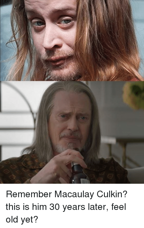 Feel Old Yet: Remember Macaulay Culkin? this is him 30 years later, feel old yet?