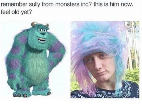 monster inc: remember sully from monsters inc? this is him now.  feel old yet?