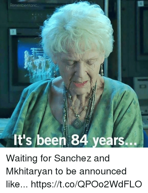 Remembertitanic It's Been 84 Years Waiting for Sanchez and ...