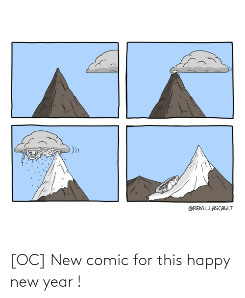 New Year's: @REMILLASCAULT [OC] New comic for this happy new year !