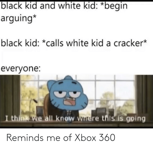 Xbox 360: Reminds me of Xbox 360