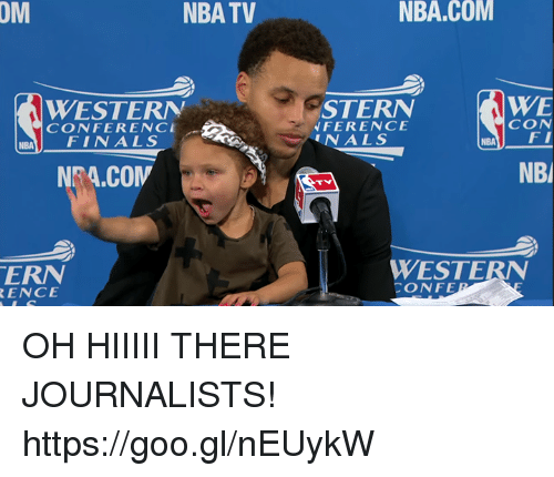 Western Conference Finals: RENCE  TV  NBA WESTERN  CONFERENCE  FINAL S  NBA.COM  WE  STERN  CON  NFERENCE  FI  UN ALS  NBA  NBl  WESTERN  CONFE OH HIIIII THERE JOURNALISTS! https://goo.gl/nEUykW