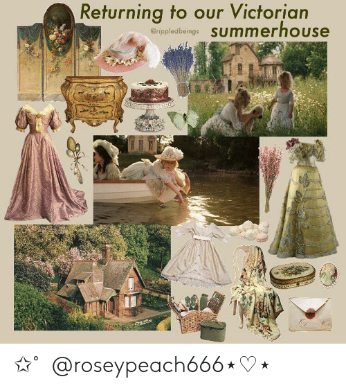 Victorian, Our, and Returning: Returning to our Victorian  erippledbeings SUmmerhouse 。✩˚。@roseypeach666⋆♡⋆。