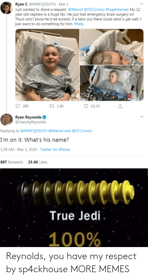 My Respect: Reynolds, you have my respect by sp4ckhouse MORE MEMES