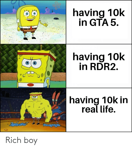 Rich Boy, Boy, and Rich: Rich boy