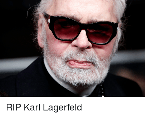 Karl Lagerfeld, Rip, and Karl