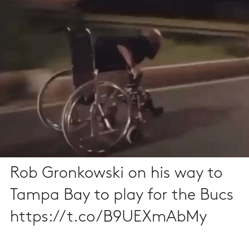 Rob: Rob Gronkowski on his way to Tampa Bay to play for the Bucs https://t.co/B9UEXmAbMy