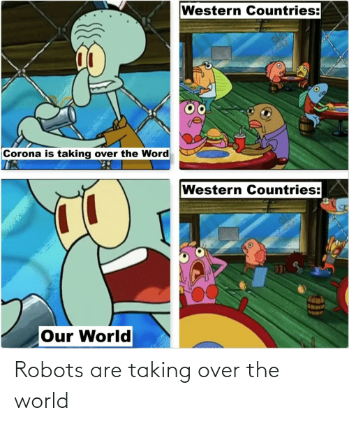 over: Robots are taking over the world
