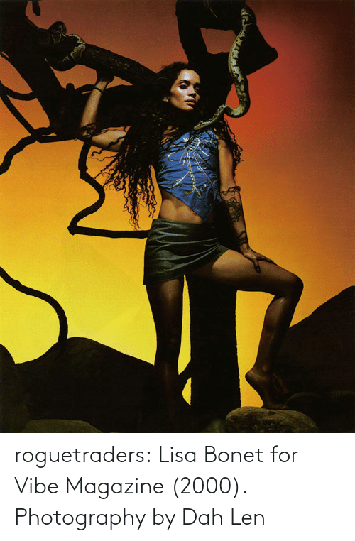 Photography: roguetraders: Lisa Bonet for Vibe Magazine (2000). Photography by Dah Len
