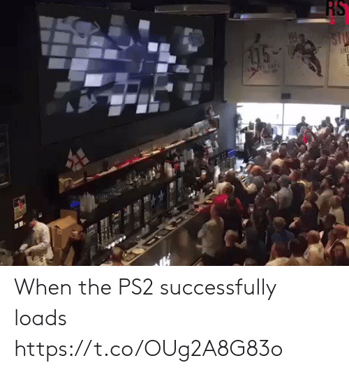ps2: RS  STU  15- When the PS2 successfully loads https://t.co/OUg2A8G83o