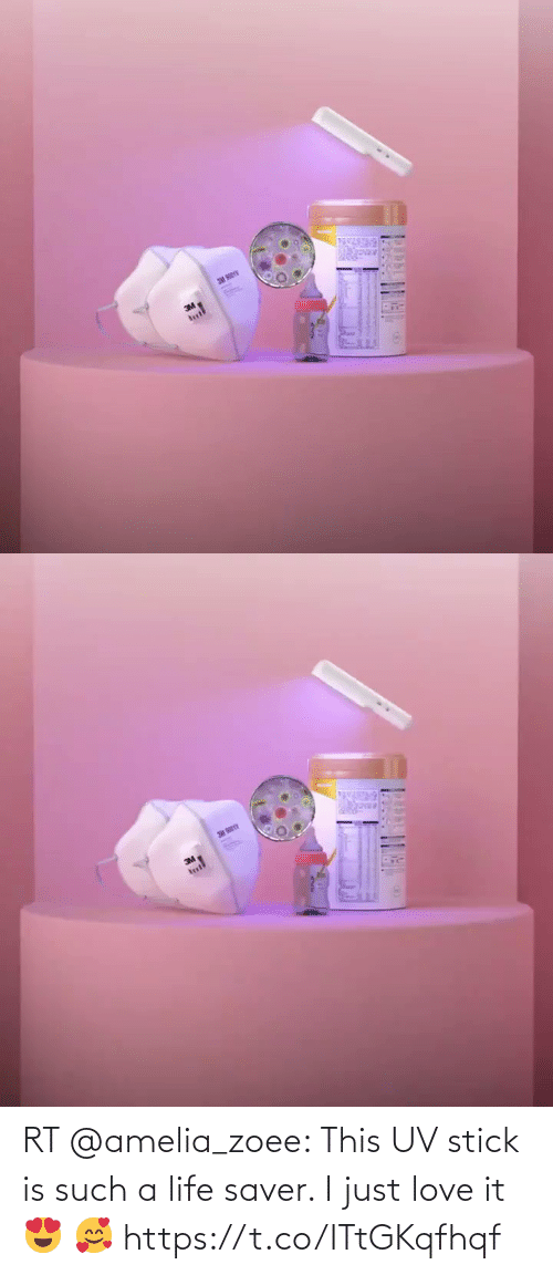 stick: RT @amelia_zoee: This UV stick is such a life saver. I just love it 😍 🥰 https://t.co/ITtGKqfhqf