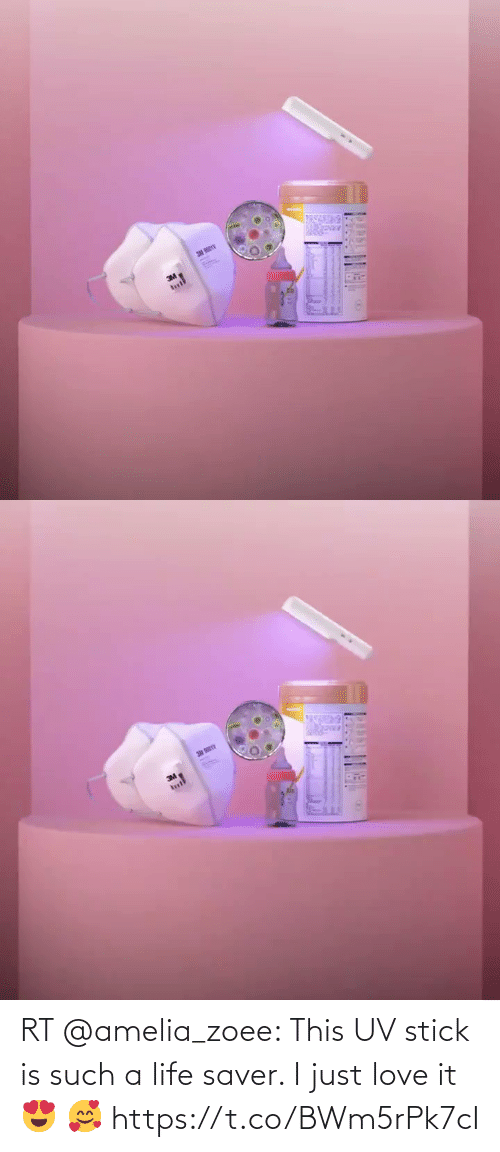 stick: RT @amelia_zoee: This UV stick is such a life saver. I just love it 😍 🥰 https://t.co/BWm5rPk7cI