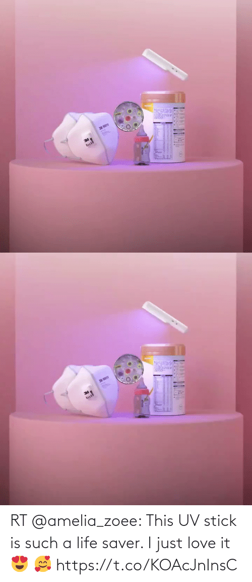 stick: RT @amelia_zoee: This UV stick is such a life saver. I just love it 😍 🥰 https://t.co/KOAcJnInsC