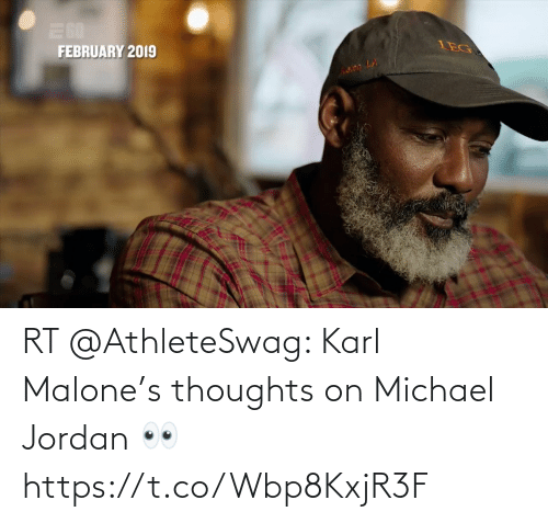 thoughts: RT @AthleteSwag: Karl Malone's thoughts on Michael Jordan 👀 https://t.co/Wbp8KxjR3F