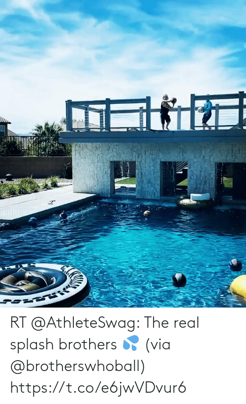 brothers: RT @AthleteSwag: The real splash brothers 💦 (via @brotherswhoball) https://t.co/e6jwVDvur6