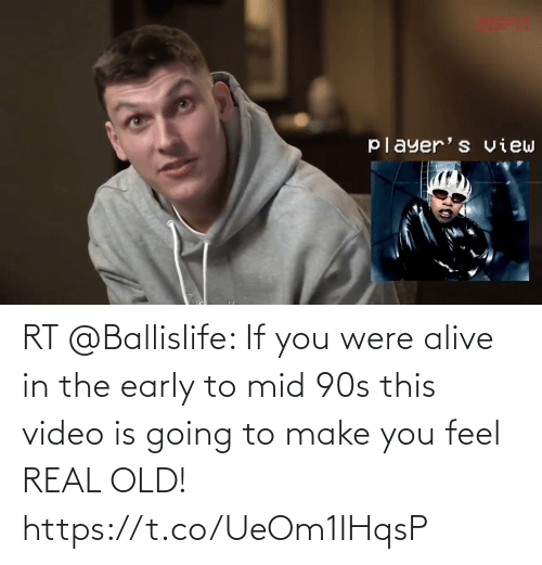 Real Old: RT @Ballislife: If you were alive in the early to mid 90s this video is going to make you feel REAL OLD!  https://t.co/UeOm1IHqsP