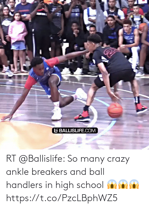 high school: RT @Ballislife: So many crazy ankle breakers and ball handlers  in high school 😱😱😱 https://t.co/PzcLBphWZ5