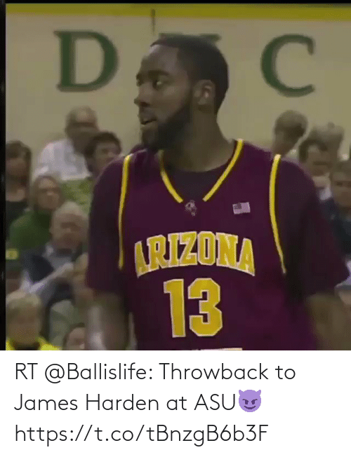 james: RT @Ballislife: Throwback to James Harden at ASU😈  https://t.co/tBnzgB6b3F