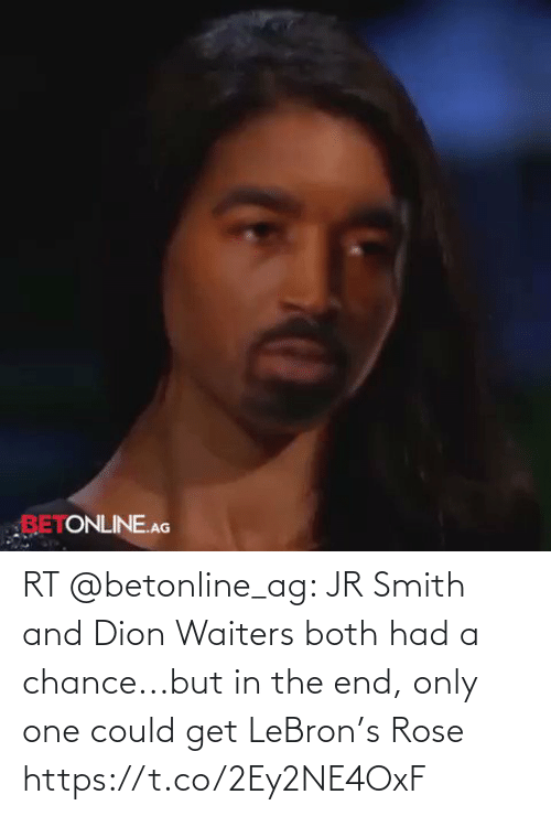 Waiters: RT @betonline_ag: JR Smith and Dion Waiters both had a chance...but in the end, only one could get LeBron's Rose https://t.co/2Ey2NE4OxF