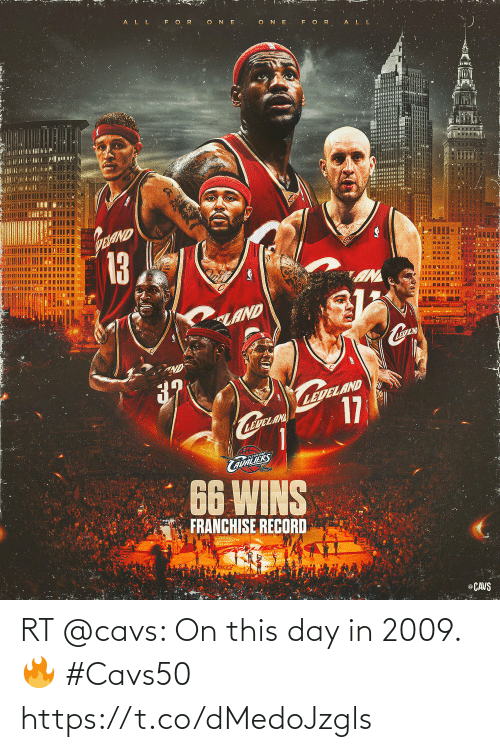 cavs: RT @cavs: On this day in 2009. 🔥 #Cavs50 https://t.co/dMedoJzgls