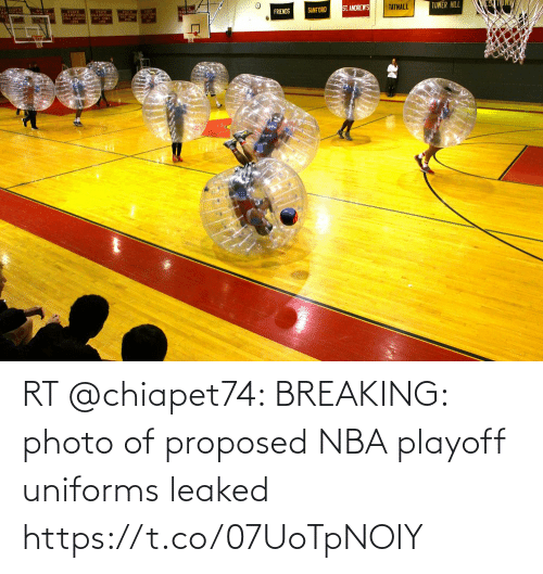 breaking: RT @chiapet74: BREAKING: photo of proposed NBA playoff uniforms leaked https://t.co/07UoTpNOIY