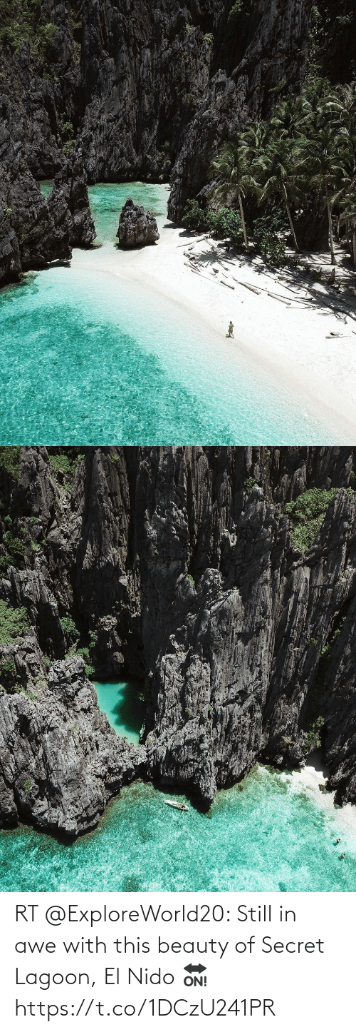 awe: RT @ExploreWorld20: Still in awe with this beauty of Secret Lagoon, El Nido 🔛 https://t.co/1DCzU241PR