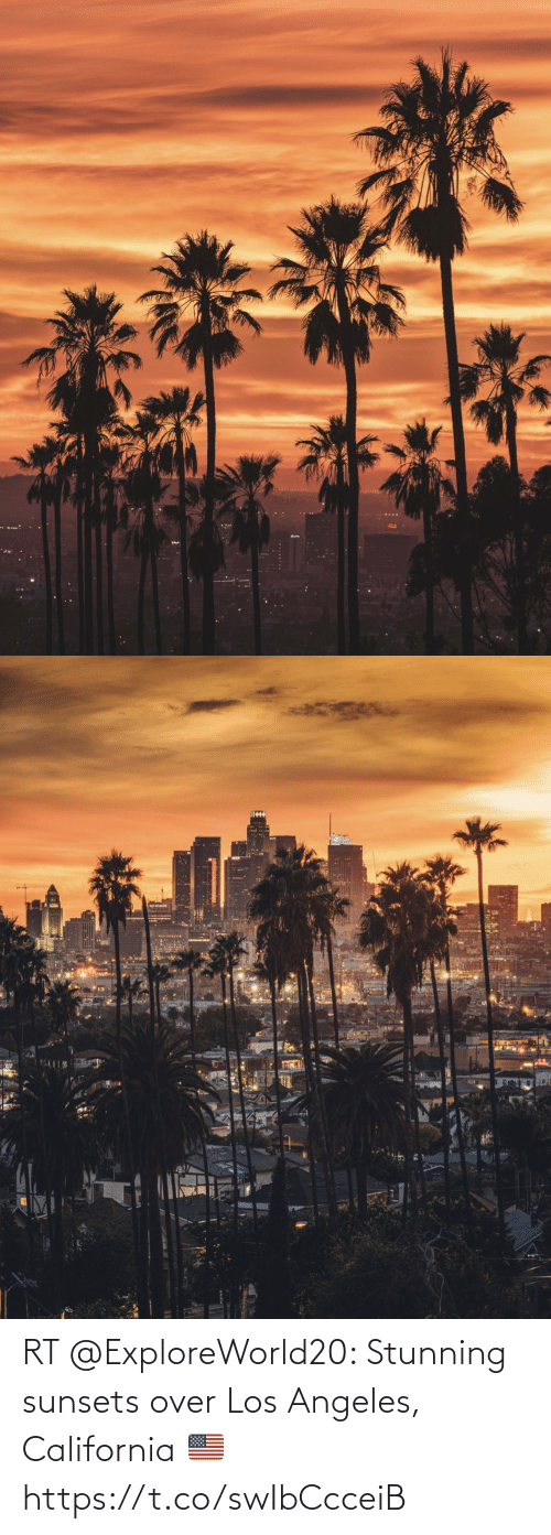 Los: RT @ExploreWorld20: Stunning sunsets over Los Angeles, California 🇺🇸 https://t.co/swIbCcceiB