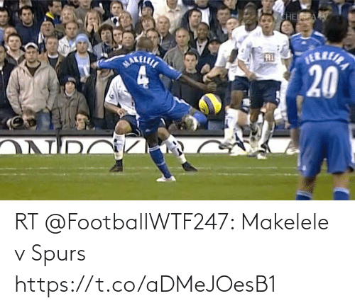 Spurs: RT @FootballWTF247: Makelele v Spurs  https://t.co/aDMeJOesB1
