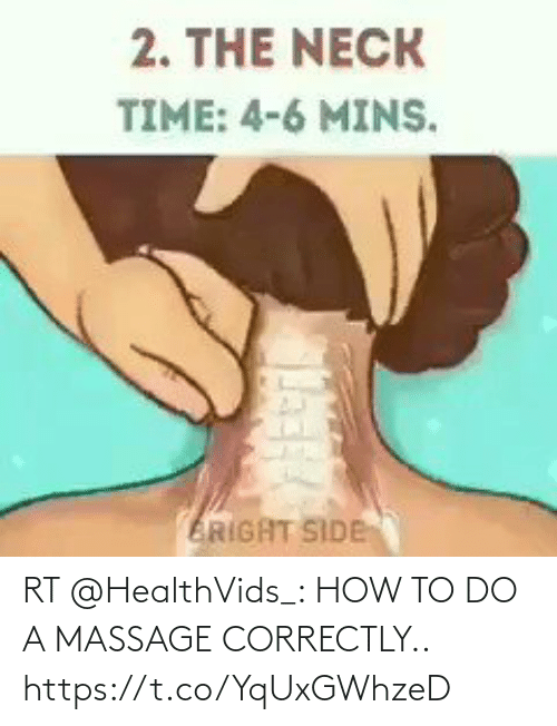 To Do: RT @HealthVids_: HOW TO DO A MASSAGE CORRECTLY.. https://t.co/YqUxGWhzeD
