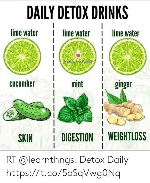 daily: RT @learnthngs: Detox Daily https://t.co/5oSqVwg0Nq