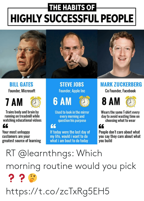 morning: RT @learnthngs: Which morning routine would you pick❓❓🤔 https://t.co/zcTxRg5EH5