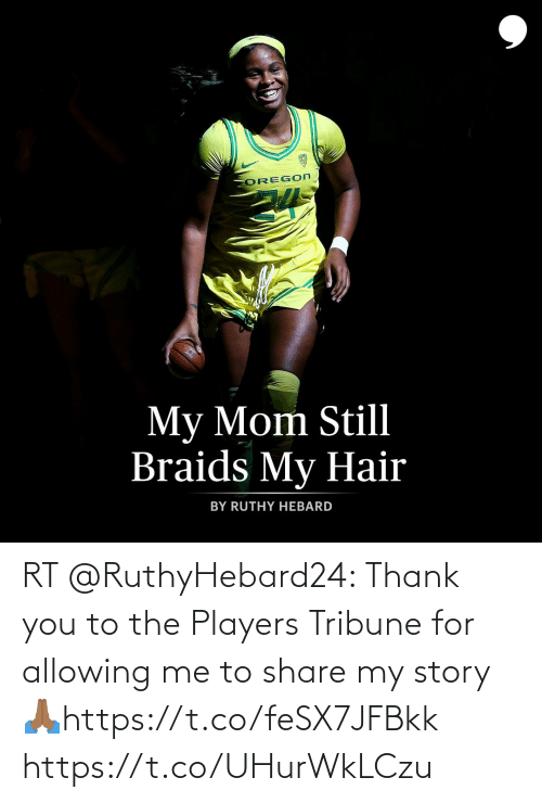 Me To: RT @RuthyHebard24: Thank you to the Players Tribune for allowing me to share my story 🙏🏾https://t.co/feSX7JFBkk https://t.co/UHurWkLCzu