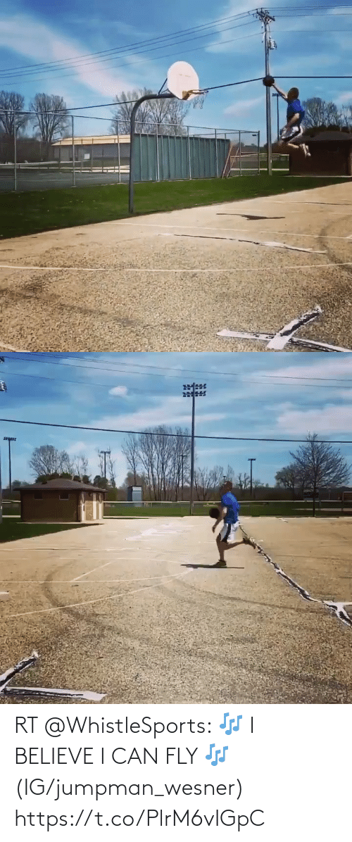 fly: RT @WhistleSports: 🎶 I BELIEVE I CAN FLY 🎶  (IG/jumpman_wesner) https://t.co/PlrM6vIGpC